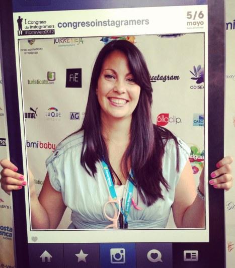 en el primer congreso instagramers